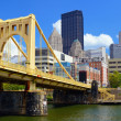 Pittsburgh Waterfront — Stock Photo
