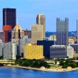 Pittsburgh Skyline — Stock Photo