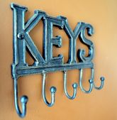 Key Rack — Stock Photo