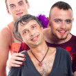 Transvestites — Stock Photo