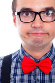 Funny Nerd — Stock Photo