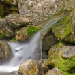 Mountain stream with cascading waterfalls — Stock Photo