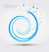 Abstract wave. Vector — Stock Vector