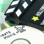 Video piracy — Stock Photo #11074160
