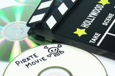 Video piracy — Stock Photo