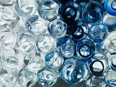 Abstrakte transparente bal underwather tintenfarbe — Stockfoto