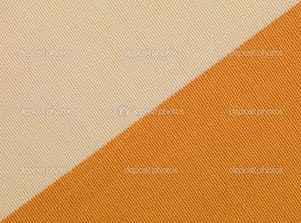 Beige and orange fabric texture — Stock Photo #10796269