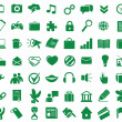 Set of functional and used web icons — Stock Vector #11334830