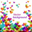 Heart-vector-background — Stock Vector