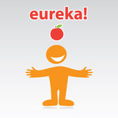 Eureka! — Stock Vector