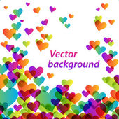 Heart-vector-background — Vettoriale Stock
