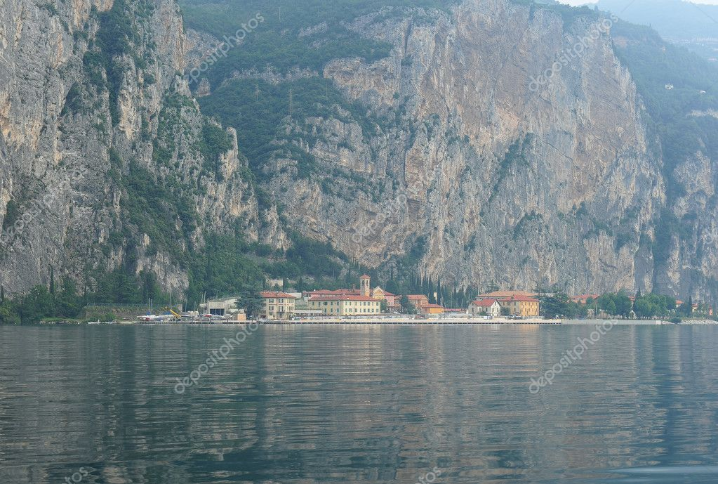 Rocks of Lake Garda  Stock Photo #11375340
