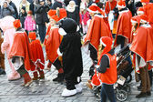 Traditional Christmas Street opening in Helsinki — Stock Photo