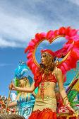 Samba carnival — Zdjęcie stockowe