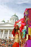 Samba karnaval — Stok fotoğraf