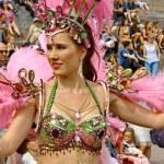 Samba karneval — Stockfoto
