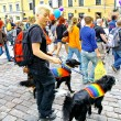 Helsinki Pride gay parade — Stock Photo
