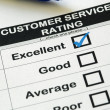Stock Photo: Excellent Customer Service Rating