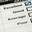 Excellent Customer Service Rating — Stock Photo #11839559