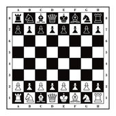 Set of Chess figures — Vecteur