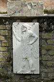 Herculaneum fresco — Stock Photo