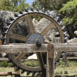 Antique farm equipment — Foto Stock