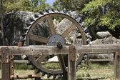 Antique farm equipment — Stock Photo
