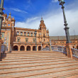 Bridge in Plazde Espana, Seville, Spain — Stock Photo #10986363