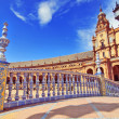 Bridge in Plaza de Espana, Seville, Spain - Stockfoto