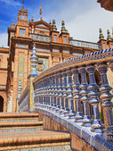 Plaza de Espana in Seville, Spain — Stock Photo