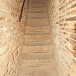 Royalty-Free Stock Photo: Stairs in Alcazaba  in the Alhambra, Granada, Spain.