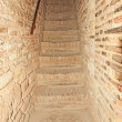 Stairs in Alcazaba in the Alhambra, Granada, Spain. — Stock Photo