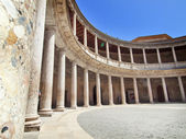 Palazzo di carlos in alhambra, granada, spagna — Foto Stock