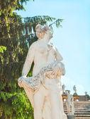 Sochy na kaskády zlatá hora v peterhof. st petersb — Stock fotografie