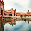 Spanish Square in Sevilla, Spain — Stock Photo