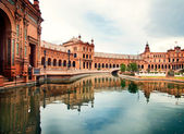 Spanish Square in Sevilla, Spain — Stock fotografie