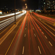 Highway traffic at night time — Stock Photo #11563911