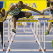 Aviva Indoor UK Trials and Championships 2012 - Stock Photo