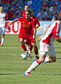 Liverpool FC North American Tour — Stock Photo