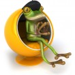 French frog — Stock Photo #10974722