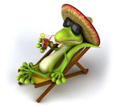 Zen lizard — Stock Photo