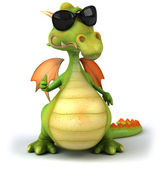 Dragon 3d illustration — Foto de Stock