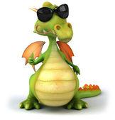Ilustração de dragão 3d — Foto Stock