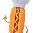 Stock Photo: Hotdog