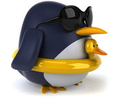 Fun penguin — Stock Photo