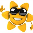 Happy sun — Stock Photo #11702221
