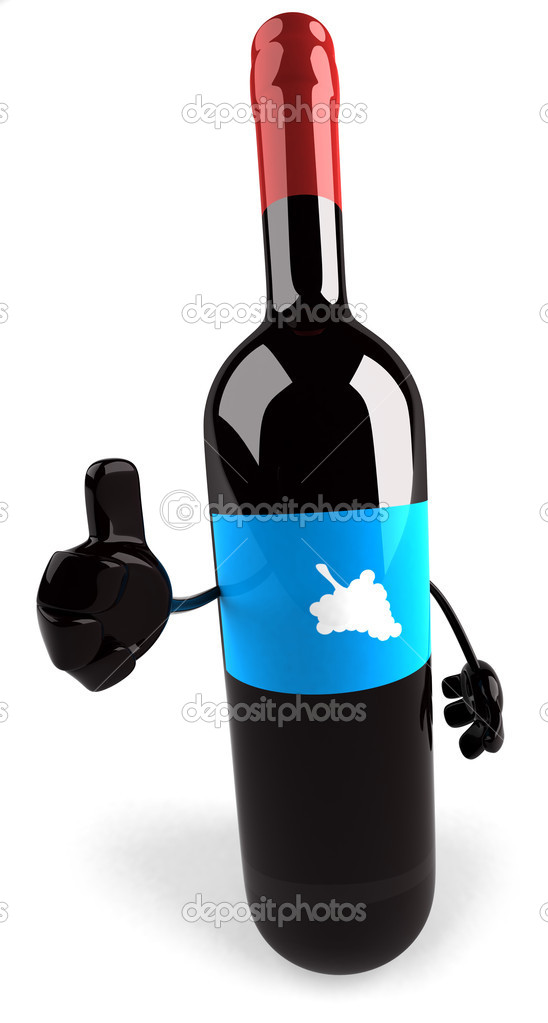 Bottle of wine — Stock Photo #11932121