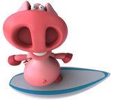 Fun pig — Stock Photo