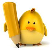 Oiseau jaune — Photo
