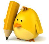 黄色鸟 — 图库照片